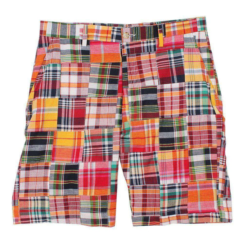 Men's Shorts - Affirmed Madras Shorts By Country Club Prep - FINAL SALE