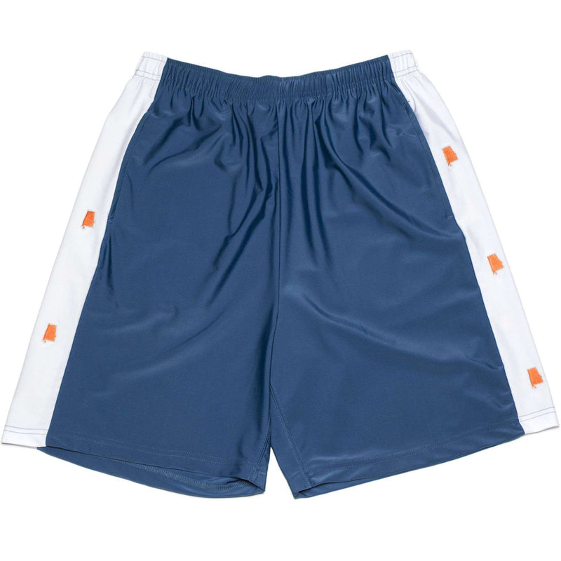 Men's Shorts - AL Auburn Shorts In Navy By Krass & Co. - FINAL SALE