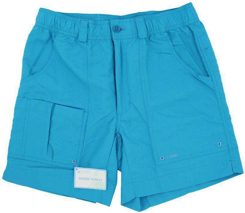 Angler Shorts v2.0 in Atlantic Blue by Coast - FINAL SALE
