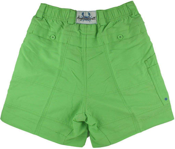 Men's Shorts - Angler Shorts V2.0 In Greengage Green By Coast - FINAL SALE