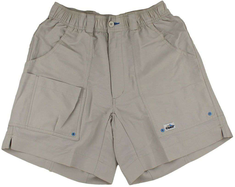 Men's Shorts - Angler Shorts V2.0 In Stone By Coast - FINAL SALE
