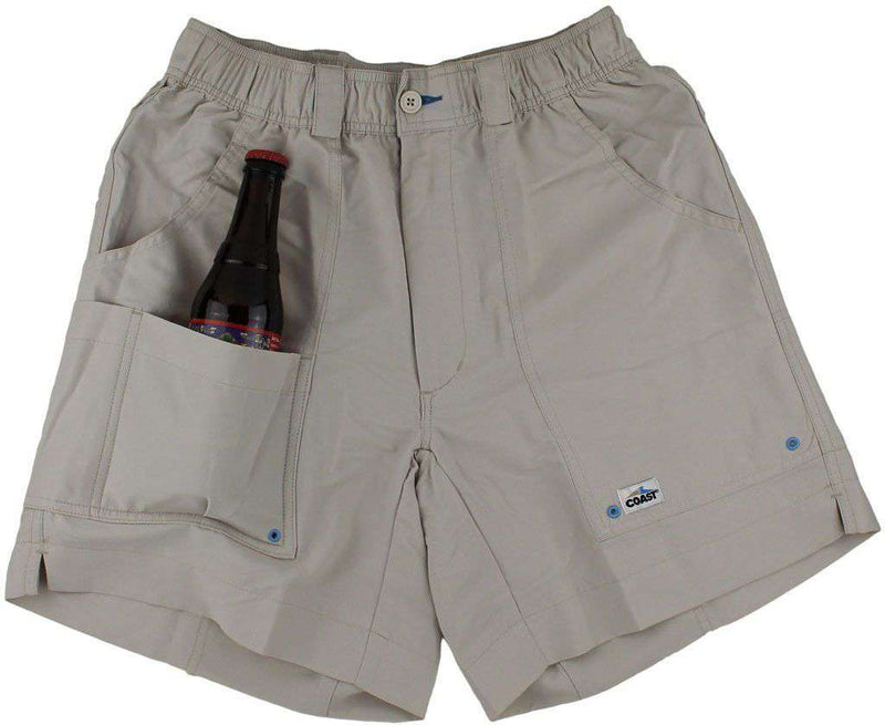 Angler Shorts v2.0 in Stone by Coast - FINAL SALE