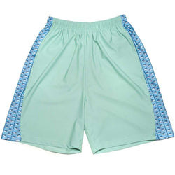 Men's Shorts - Big Tuna Shorts In Seafoam Green With Blue By Krass & Co. - FINAL SALE