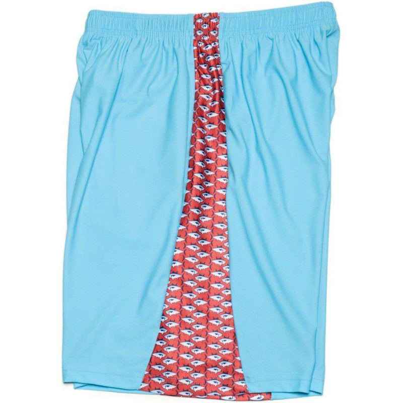 Men's Shorts - Big Tuna Shorts In Turquoise By Krass & Co.