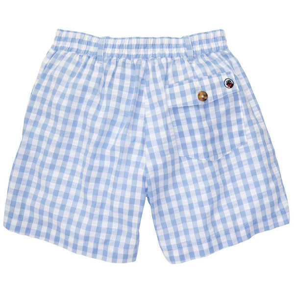Blue and White Seersucker Shorts by Southern Proper - FINAL SALE