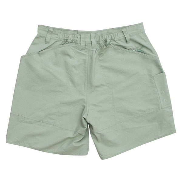 Cahaba Fishing Short in Frosty Green by The Southern Shirt Co.