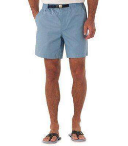Men's Shorts - Campsite Shorts In Shark Blue By Southern Tide - FINAL SALE