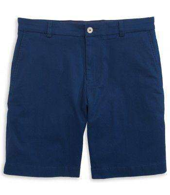"Men's Shorts - Channel Marker Classic 9"" Summer Short In Yacht Blue By Southern Tide"