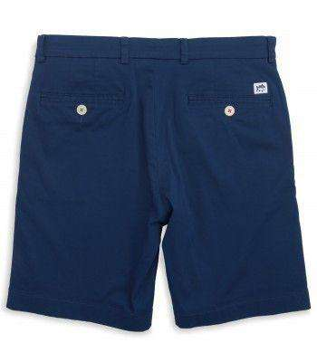 "Channel Marker Classic 9"" Summer Short in Yacht Blue by Southern Tide"