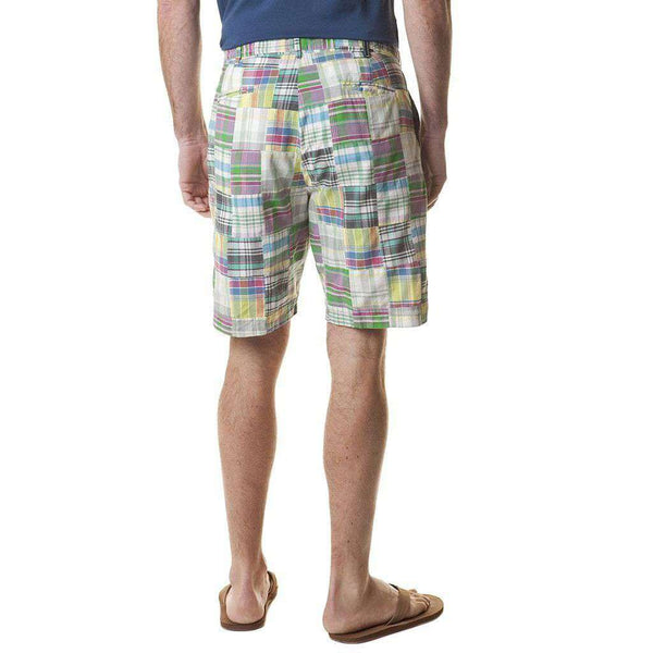 Cisco Short in Spring Patch Madras by Castaway Clothing - FINAL SALE