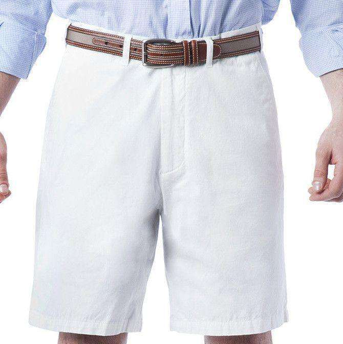 Men's Shorts - Cisco Shorts In Memorial White By Castaway Clothing