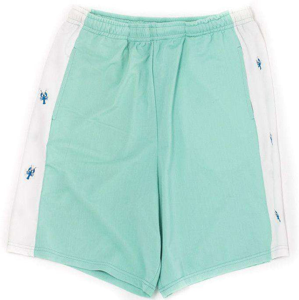 Classic Lobster Shorts in Seafoam Green by Krass & Co. - FINAL SALE
