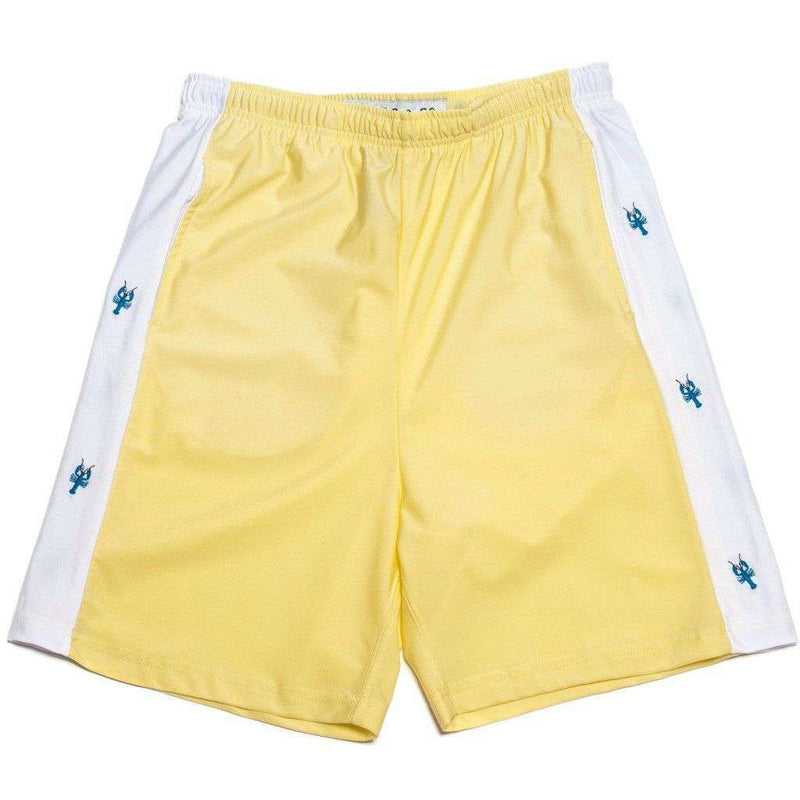 Men's Shorts - Classic Lobster Shorts In Yellow By Krass & Co