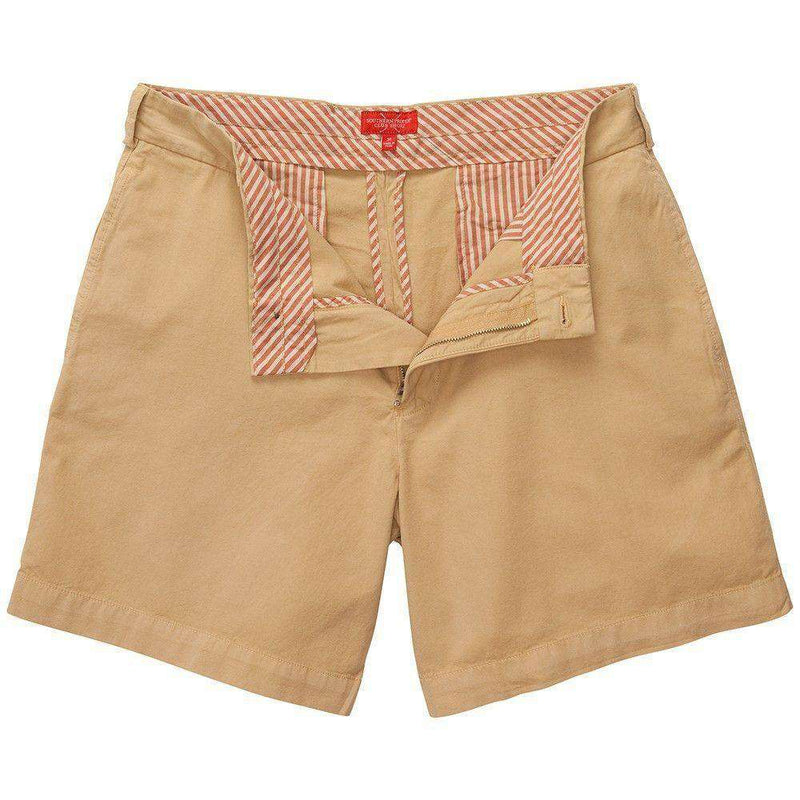 Club Short in Khaki by Southern Proper - FINAL SALE