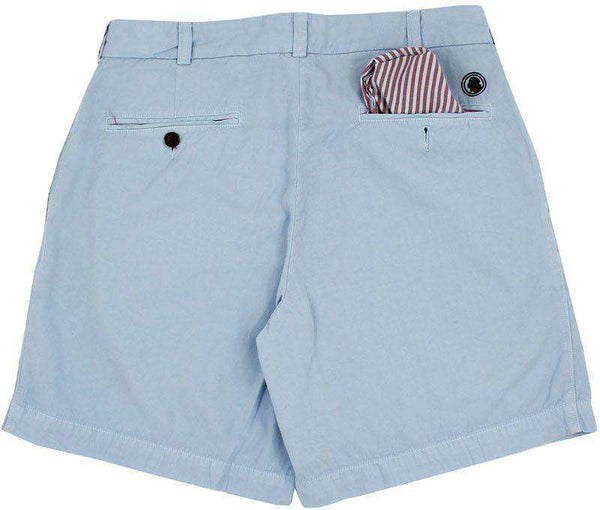 Club Short in Powder Blue by Southern Proper