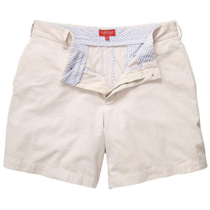 Club Short in Stone by Southern Proper