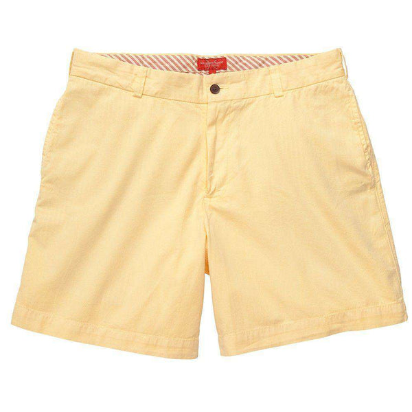 Club Short in Yellow by Southern Proper - FINAL SALE