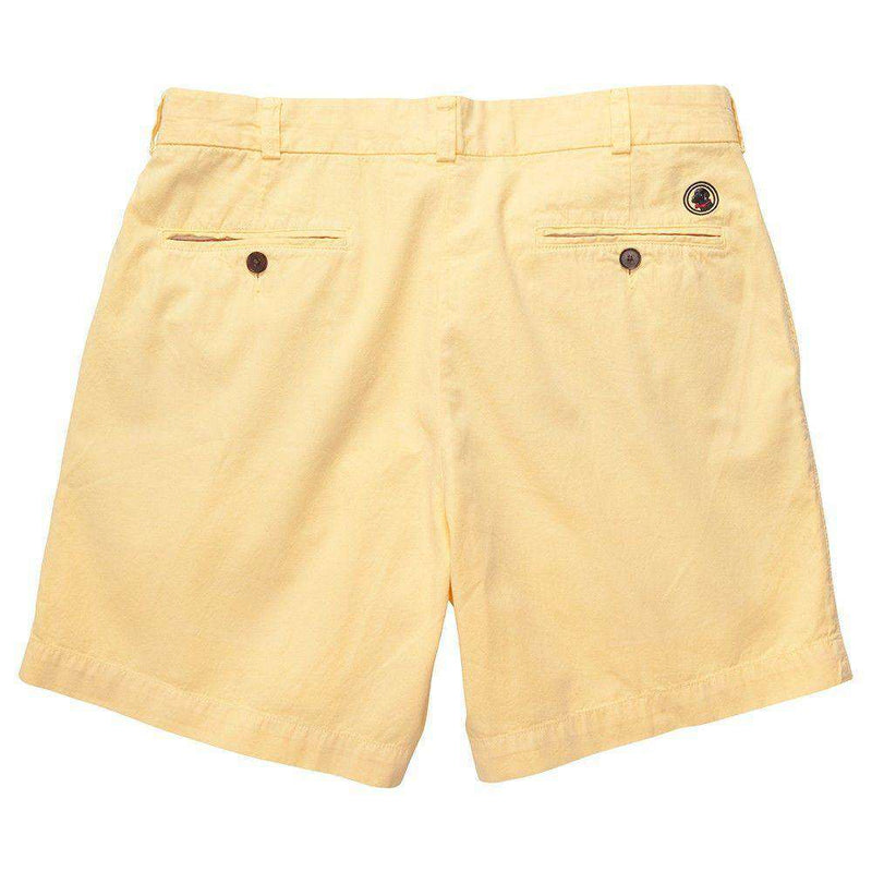 Men's Shorts - Club Short In Yellow By Southern Proper - FINAL SALE
