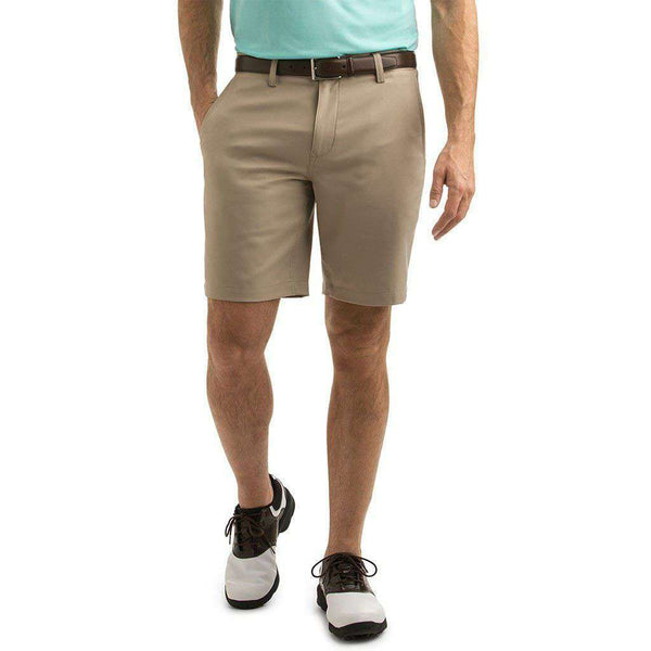 Custom 9 Inch Links Shorts in Khaki by Vineyard Vines