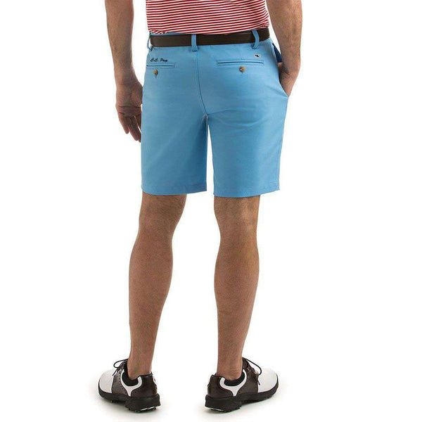 Men's Shorts - Custom 9 Inch Links Shorts In Ocean Breeze By Vineyard Vines