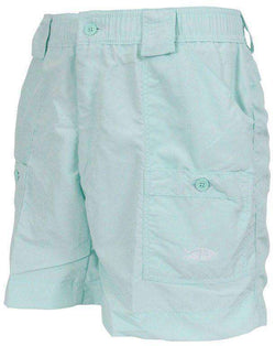 Men's Shorts - Fishing Shorts In Mint Green By AFTCO