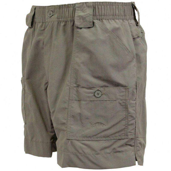 Men's Shorts - Fishing Shorts In Olive By AFTCO