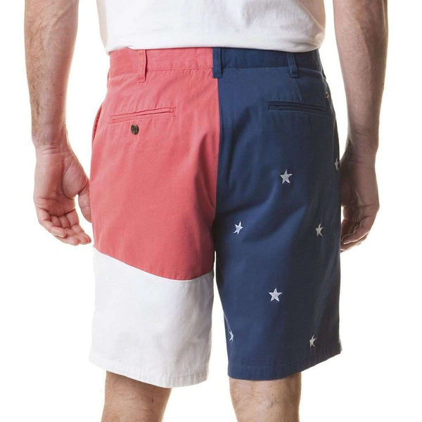 Men's Shorts - Flag Panel Cisco Short By Castaway Clothing