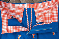 Men's Shorts - Florida Stadium Short In Blue By Pennington & Bailes