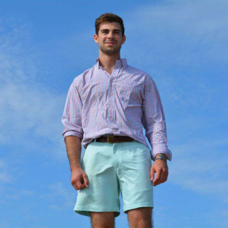 Men's Shorts - Freedom Shorts In Carolina Pima Cotton By Blankenship Dry Goods - FINAL SALE