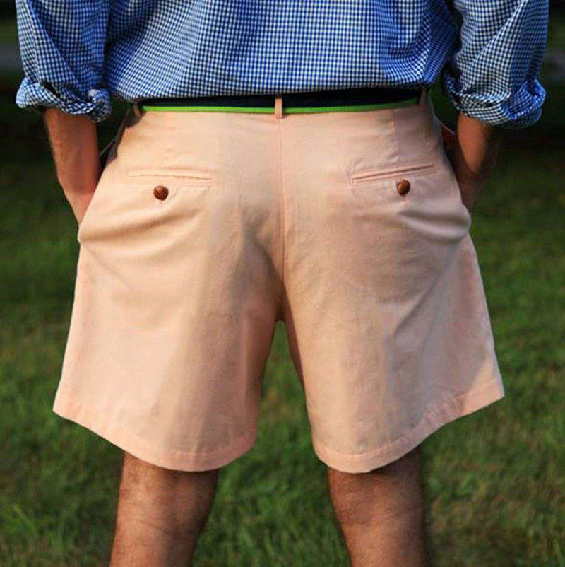 Men's Shorts - Freedom Shorts In Georgia Peach By Blankenship Dry Goods - FINAL SALE