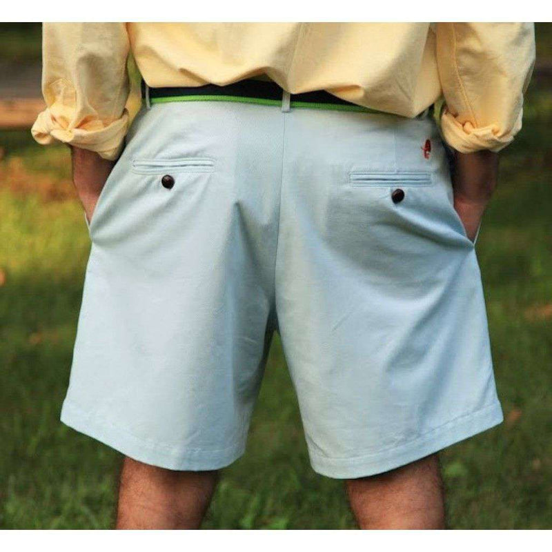 Men's Shorts - Freedom Shorts In Light Teal Blue By Blankenship Dry Goods - FINAL SALE