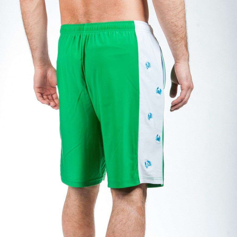 Harbor Crab Shorts in Green by Krass & Co. - FINAL SALE