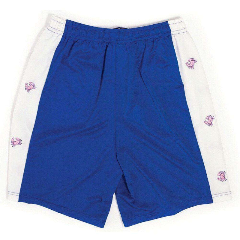 Men's Shorts - Harbor Crab Shorts In Navy Blue By Krass & Co. - FINAL SALE
