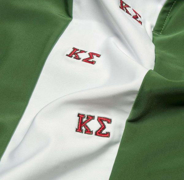 Kappa Sigma Shorts in Emerald Green by Krass & Co.