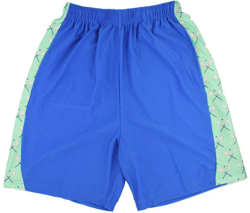 Men's Shorts - Lax Stick Shorts In Navy By Krass & Co.