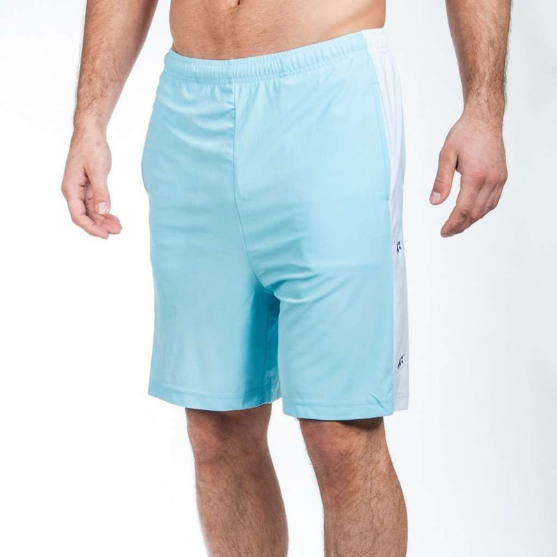 Men's Shorts - Limited Edition Shark Week Shorts In Carolina Blue By Krass & Co.