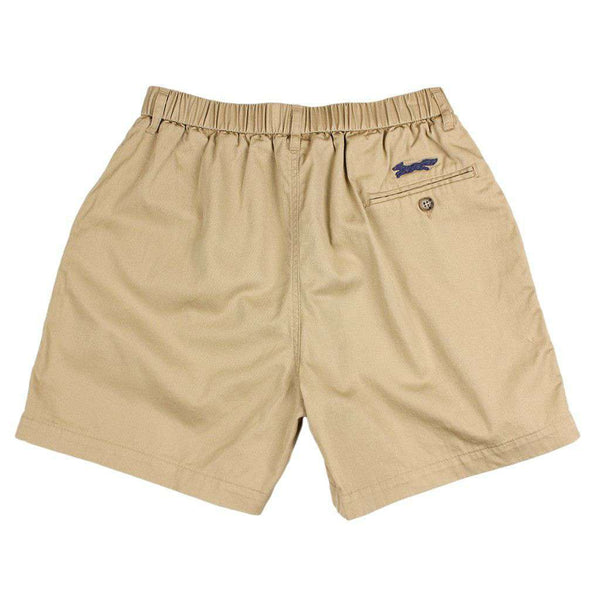 "Men's Shorts - Longshanks 5.5"" Chino Shorts In Khaki By Country Club Prep - FINAL SALE"