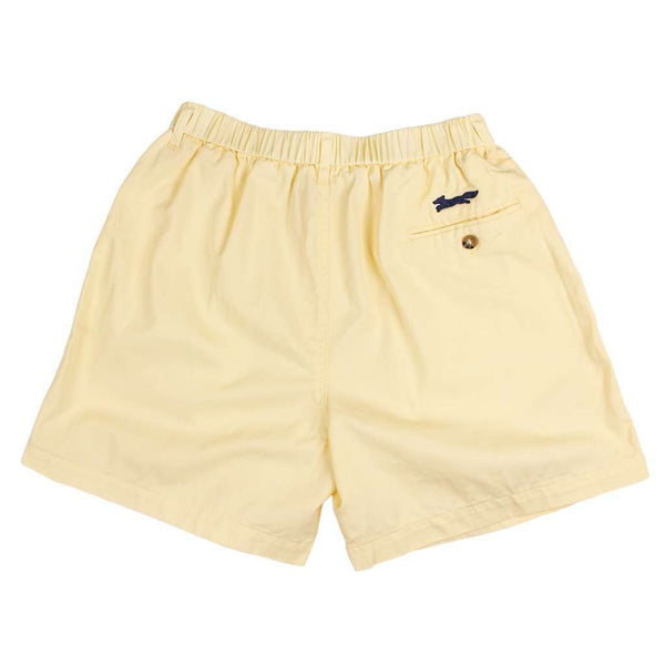 "Longshanks 5.5"" Chino Shorts in Maize Yellow by Country Club Prep - FINAL SALE"