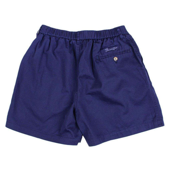 "Men's Shorts - Longshanks 5.5"" Chino Shorts In Navy By Country Club Prep - FINAL SALE"