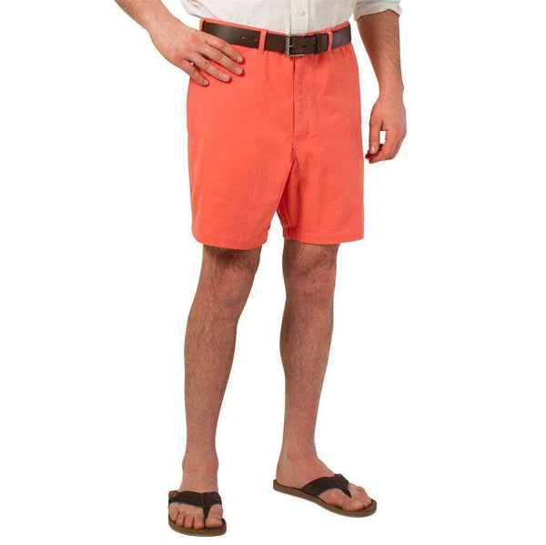 Mariner Short in Fiesta Orange by Castaway Clothing - FINAL SALE