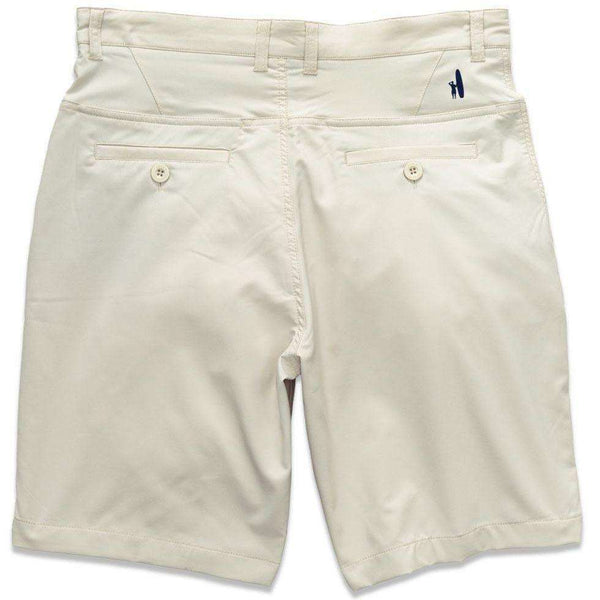 "Men's Shorts - Mulligan ""Prep-Formance"" Shorts In Stone By Johnnie-O"