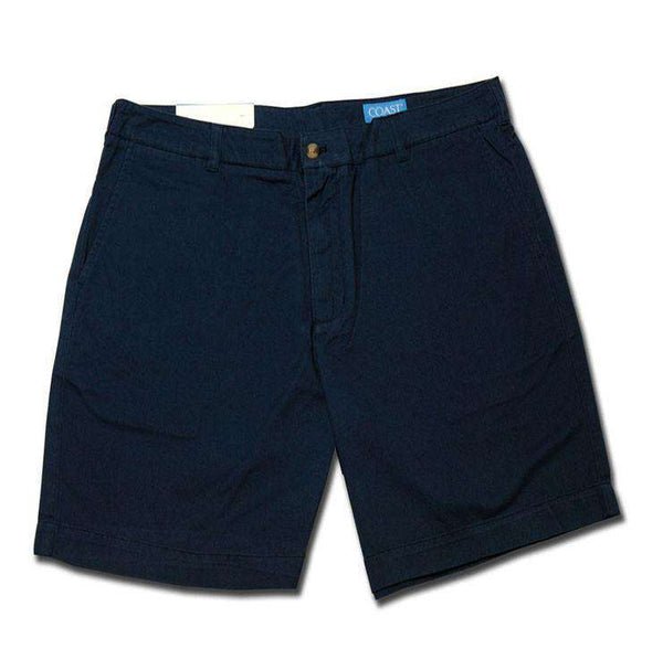 Pawleys Twill Shorts in Blue Moon by Coast - FINAL SALE