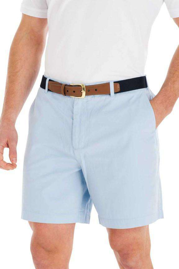 Pawleys Twill Shorts in Carolina Blue by Coast - FINAL SALE