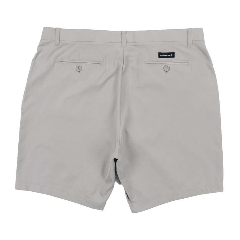 Peterson Performance Short in Light Gray by Southern Marsh