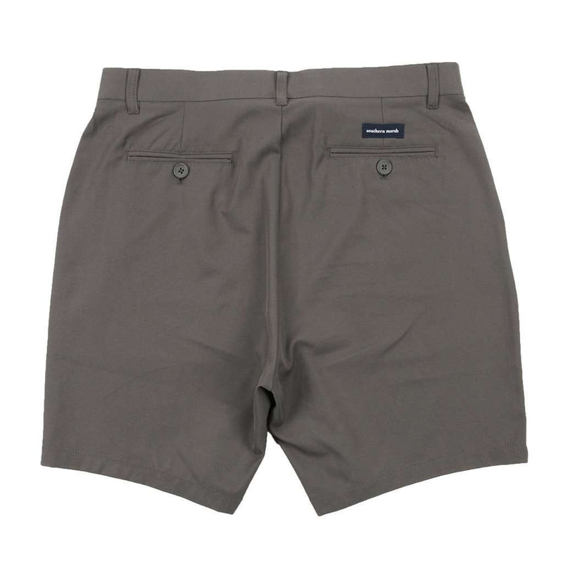 Men's Shorts - Peterson Performance Short In Midnight Gray By Southern Marsh - FINAL SALE
