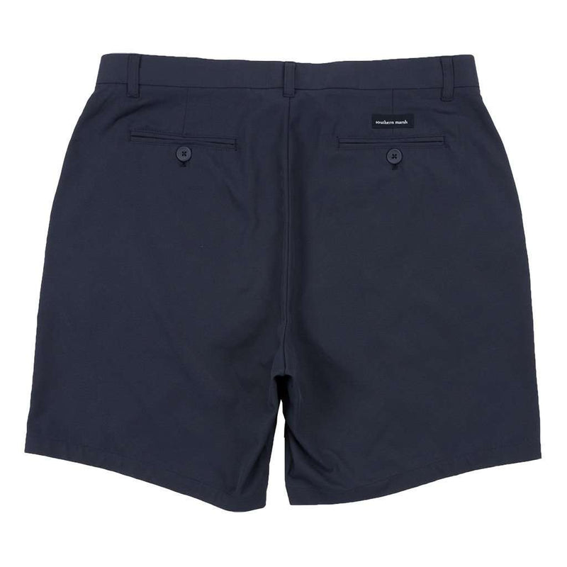 Peterson Performance Short in Navy  by Southern Marsh