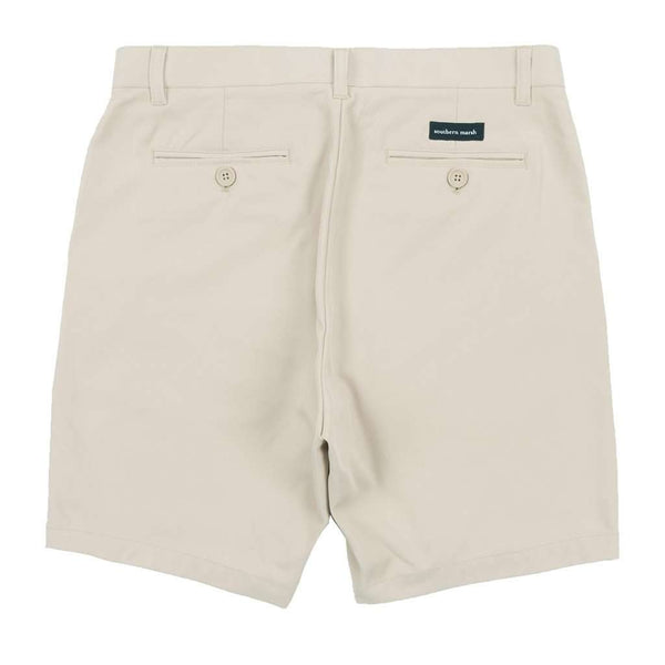 Men's Shorts - Peterson Performance Shorts In Pebble By Southern Marsh