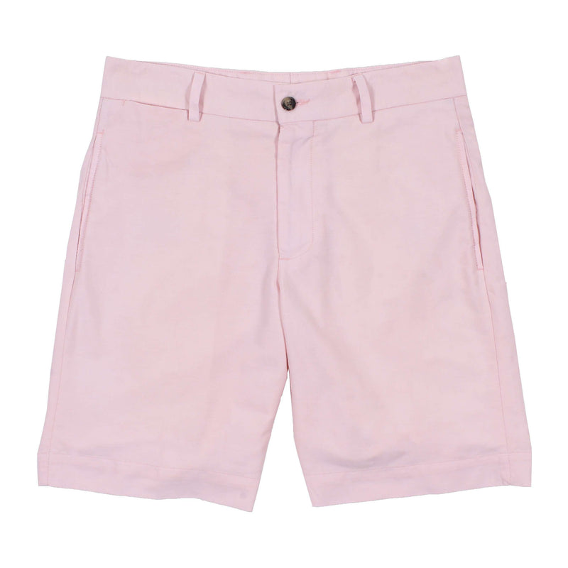 Men's Shorts - Pink Pique Shorts By Country Club Prep - FINAL SALE
