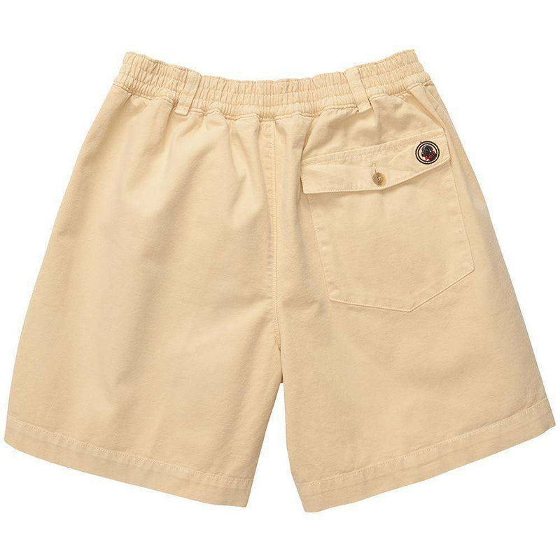 Men's Shorts - Preppy Camp Short In Stone By Southern Proper - FINAL SALE