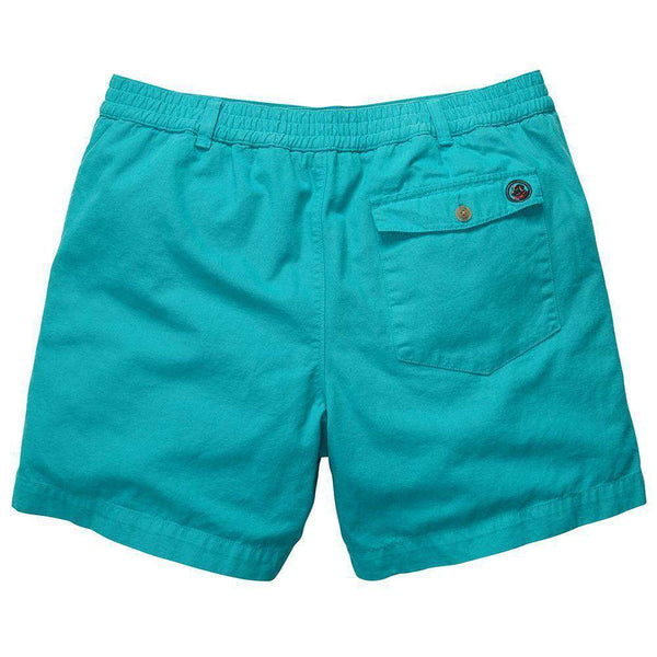 Preppy Camp Short in Turquoise by Southern Proper - FINAL SALE